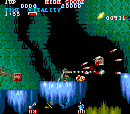 Play Arcade Black Tiger Online In Your Browser Retrogames Cc