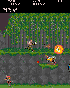 Play Arcade Contra (US, Set 1) Online in your browser - RetroGames cc