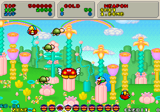 Fantasy Zone II - The Tears of Opa-Opa (System 16C)