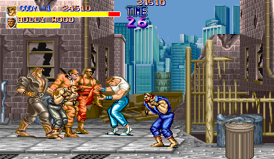 Play Arcade Final Fight (USA, set 1) Online in your browser