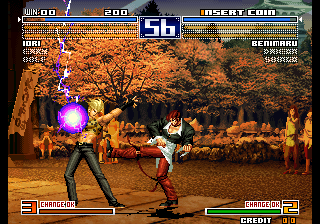 Play Arcade The King of Fighters 2003 (NGM-2710) Online in your