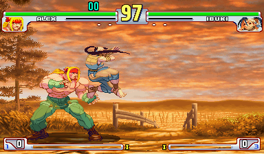 Play Arcade Street Fighter III 3rd Strike: Fight for the Future