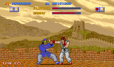Play Arcade Street Fighter (US set 1) Online in your browser