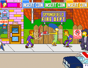 Play Arcade The Simpsons (4 Players World, set 2) Online in your