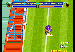 Play Arcade Soccer Brawl (NGM-031) Online in your browser