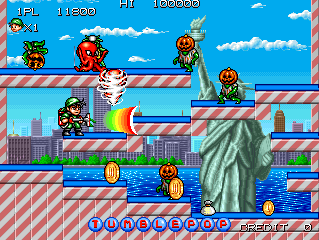 Play Arcade Tumble Pop (World) Online in your browser - RetroGames cc