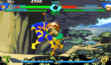 X-Men vs Street Fighter (961023 Brazil)